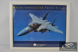 Fighter Jet Framed Picture - PCC Airfoils, Inc - Minerva Operations