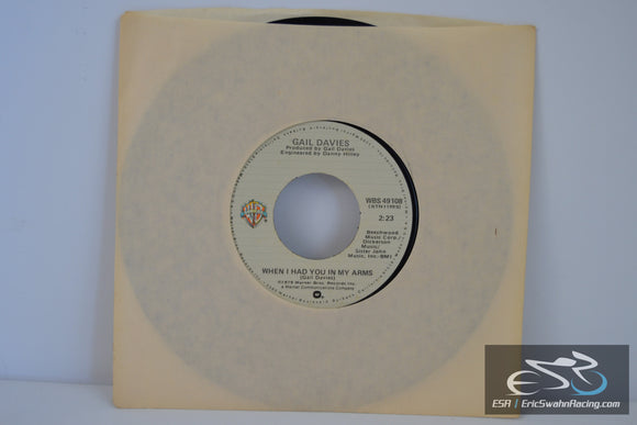 "Blue Heartache/ When I Had You In My Arms – Gail Davies 7"" 45 (Warner)"