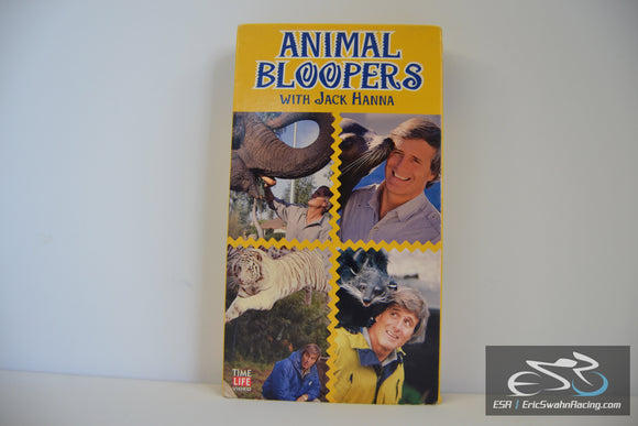 Animal Bloopers With Jack Hanna [VHS] Tape Movie 1995