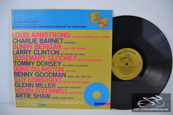 Chevrolet Golden Anniversary Album Record Vinyl Album RCA Records Special Edition 1961