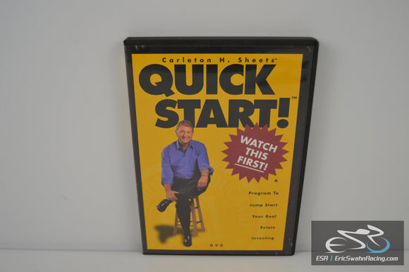 Carleton H. Sheets QUICK START! [DVD] 2003