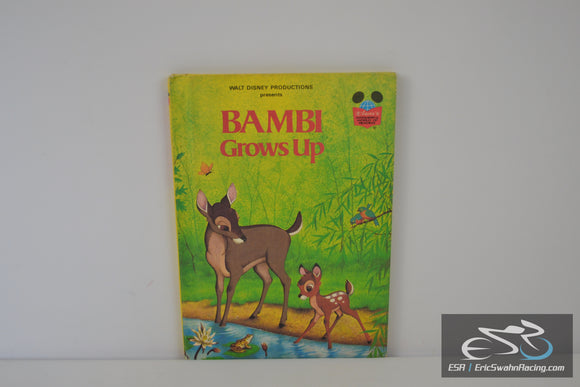 Bambi Grows Up (Disney's Wonderful World of Reading) Hardcover Book – 1979 Walt Disney