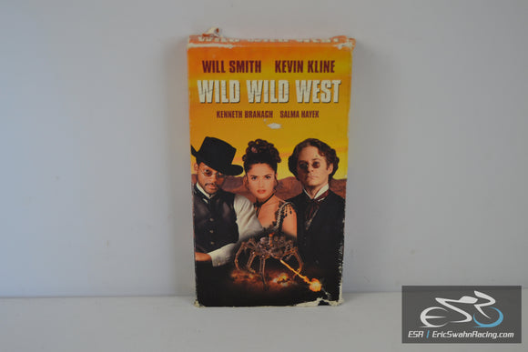 Wild Wild West VHS Video Tape Movie 1999 Will Smith, Kevin Kline, Salma Hayek, Emmet Walsh