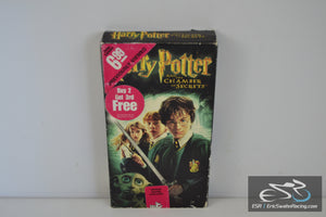 Harry Potter and the Chamber of Secrets VHS Video Tape Movie 2003 Daniel Radcliffe, Rupert Grint