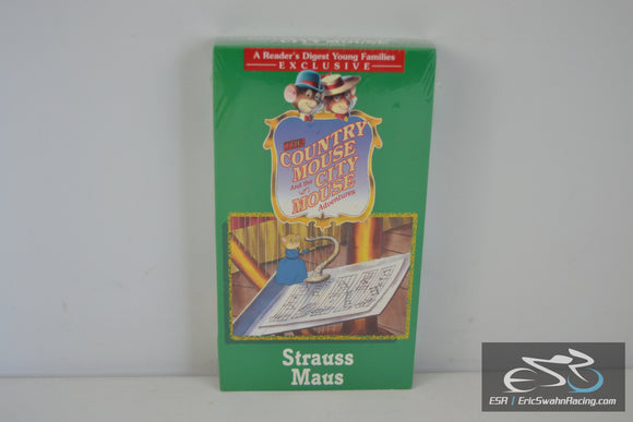 The Country Mouse and the City Mouse Adventures - Strauss Maus VHS Video Tape Movie 1997