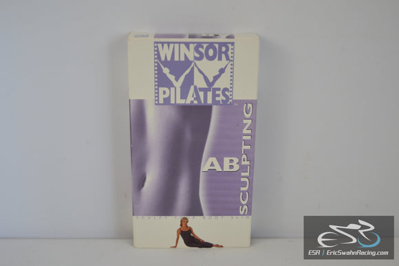 Winsor Pilates: Ab Sculpting VHS Video Tape Movie 2002 Mari Winsor, Dragonfly Productions