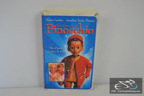 The Adventures of Pinocchio VHS Video Tape Movie 1996 Martin Landau, Steve Barron