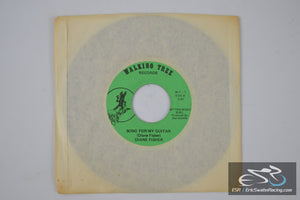 "Diane Fisher - Breaking All The Rules, Song For My Guitar 45/7"" Vinyl Album Walking Tree Records"