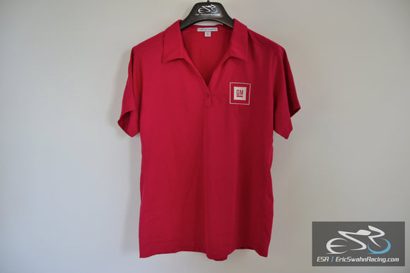 Port Authority GM Embroidered Polo Shirt Ladies XL Raspberry