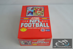 1990 Score Series 1 NFL Football Player Cards and Trivia Cards Vintage