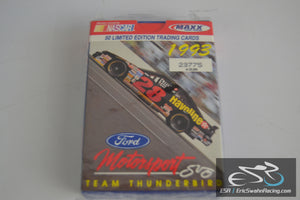 Nascar Ford Motorsport Team Thunderbird 50 Limited Edition Trading Cards 1993