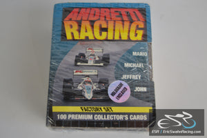 1992 Collect-A-Card Andretti Racing Card Factory Set
