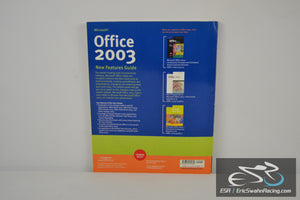 Microsoft Office 2003 New Features Guide Paperback Book
