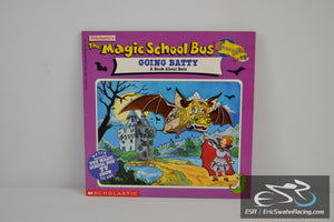 Magic School Bus Going Batty Paperback Book 1996 Joanna Cole