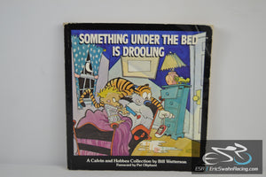Something Under The Bed Is Drooling Calvin and Hobbes Comic 1988