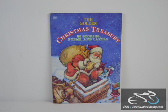 The Golden Christmas Treasury Paperback Book 1993 Rick Bunsen