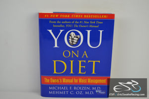 You, on a Diet: Waist Management Hardcover Book 2006 Dr. Oz, Roizen