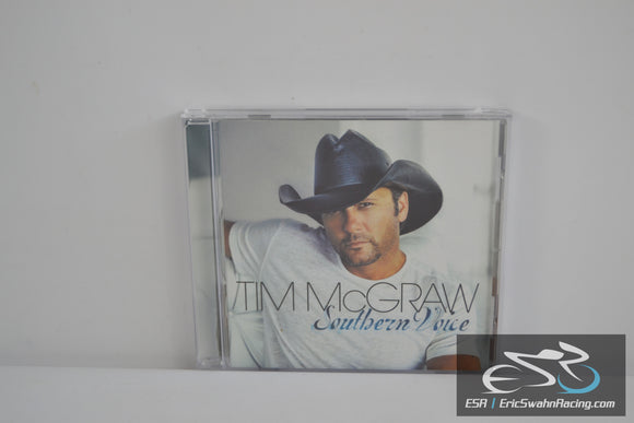Southern Voice CD 2009 Tim McGraw Curb Records