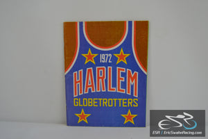 1972 Harlem Globetrotters Yearbook Basketball Magazine