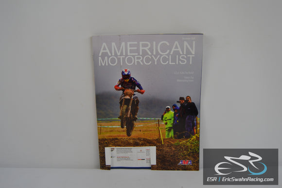 American Motorcyclist December 2016 Magazine AMA Today's Top Issues