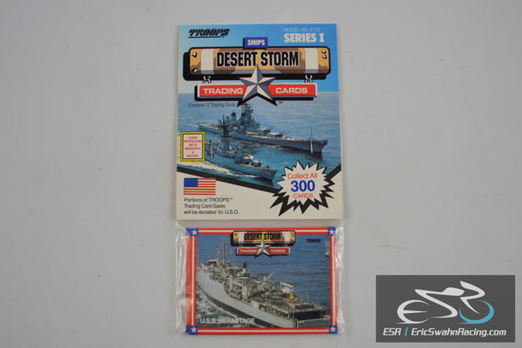 Desert Storm Trading Cards Pack of 12 Vinrage 1991