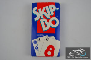 Skip-Bo Card Game Mattel 1995 Classic