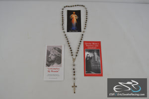 Divine Mercy Novena And Chaplet Hail Mary Rosary Beads 1993 Marians