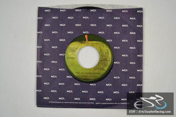 Paul McCartney & Wings - 1985, Band On The Run 45/7 Vinyl 1973 Apple/EMI Records