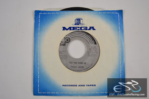 "Terry Jacks - Put The Bone In, Seasons In The Sun 45/7"" Vinyl 1973 Bell Records"