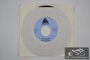 "Barry Manilow - A Nice Boy Like Me, I Write The Songs 45/7"" Vinyl 1975 Artista"