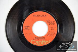 "Anne Murray - He Thinks I Still Care, You Won't See Me 45/7"" Vinyl 1974 Capitol"
