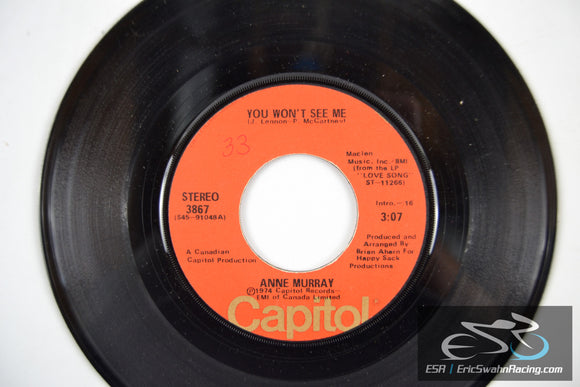 Anne Murray - He Thinks I Still Care, You Won't See Me 45/7