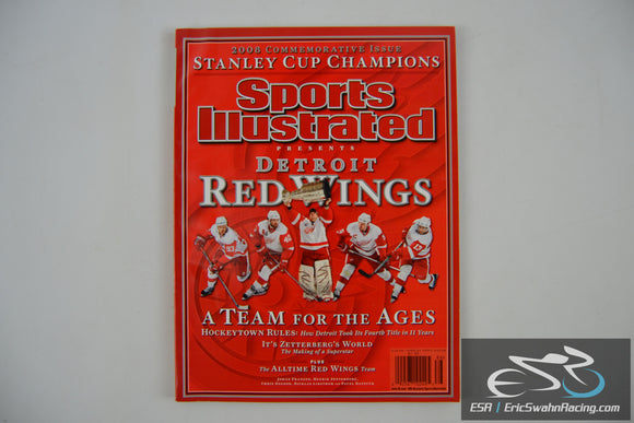 Sports Illustrated Magazine - Detroit Red Wings 2008 Stanley Cup Champions