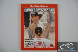 The Detroit News Paperback Book - Stanley's Back! 2002 Stanley Cup Champions