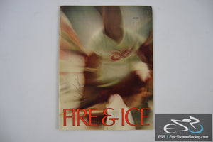 Fire & Ice Paperback Magazine Autographed Scott Jessee 1960s Detroit Red Wings