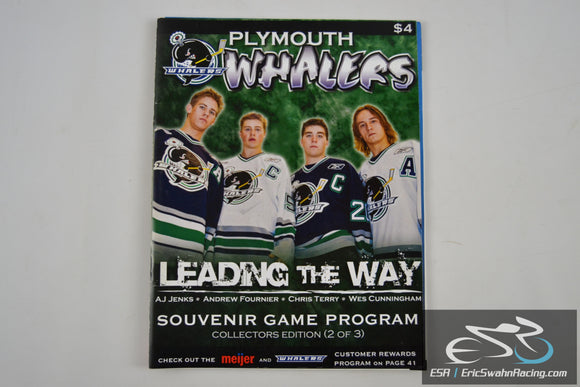 Plymouth Whalers Game Program Collectors Edition (2 of 3) 2007-2008