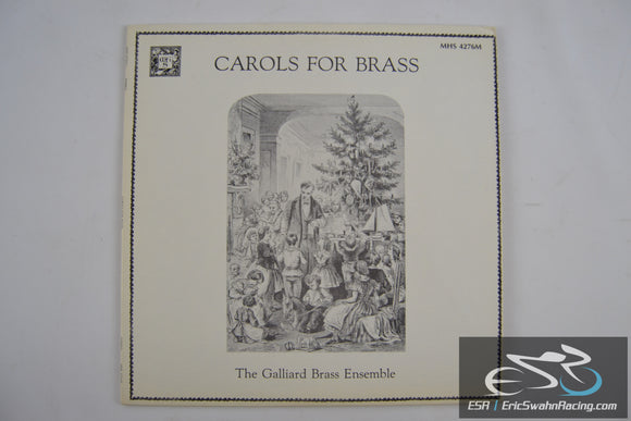 Chorals For Brass - Galliard Brass Ensemble Vinyl 1980 Musical Heritage Society