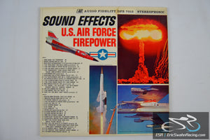 Sound Effects - U.S. Air Force Firepower Vinyl 1962 Audio Fidelity Records