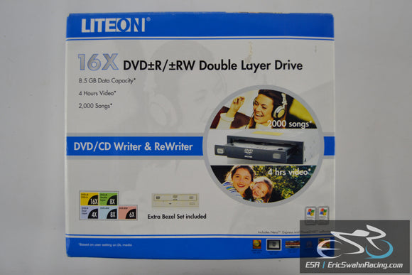 LiteOn 16x DVD+R/+RW Double Dayer Drive CD/DVD Writer & ReWriter 2006