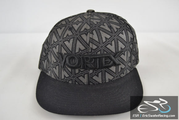 Vortex Racing Flexfit Hat S/M Pre-Owned Black/Grey