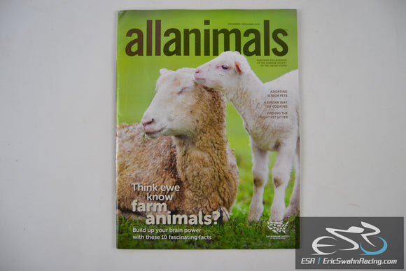 All Animals Magazine - Think ewe know farm animals? Vol 18.06 Nov/Dec 2016