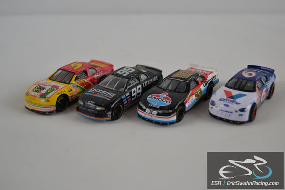 Racing Champions Four Die Cast Model Cars 1990's Kellogg, Roush Racing