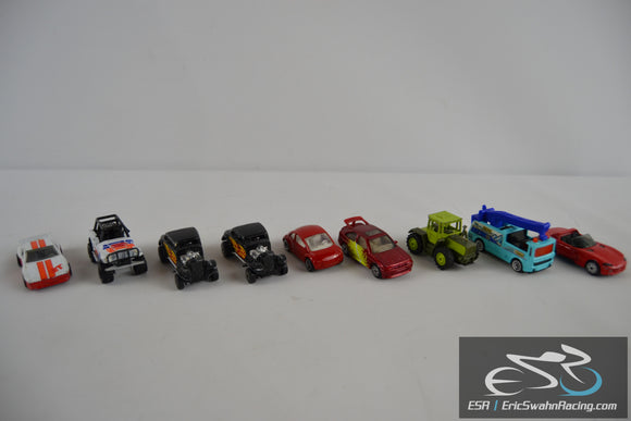 Matchbox Die Cast Toy Cars Jeep, Volkswagen, Ford Escort Cosworth, Dodge Viper