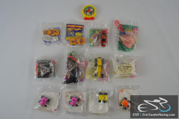 McDonalds Happy Meal Toy Lot of 13 Doug, Tonka, Racing Series, Hotwheels Mattel