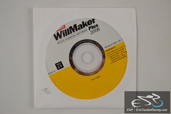 Quicken WillMaker Plus Estate Planning Software '08 V7.0 Windows 2000, XP, Vista