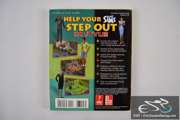 The Sims Livin' Large Expansion Pack Prima's Official Strategy Guide Maxis 2000