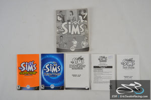 The Sims Game Manuals Superstar, Makin' Magic, House Party, Unleashed, Hot Date