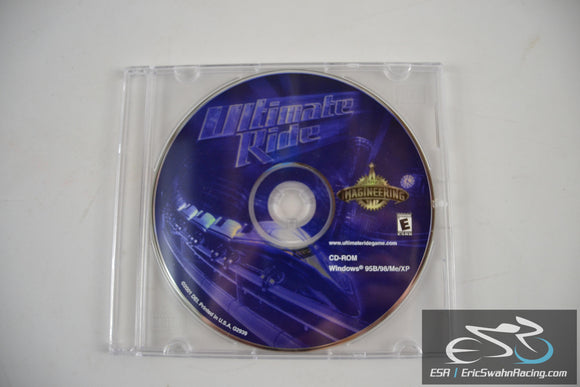 Ultimate Ride Disney Imagineering CD Game 2001 Windows 95B/98/Me/XP