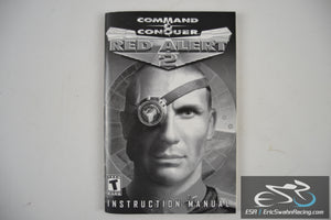 Red Alert 2: Command & Conquer Instruction Manual PC Game 2000