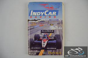 IndyCar Racing PC Game Instruction Manual Papyrus 1993